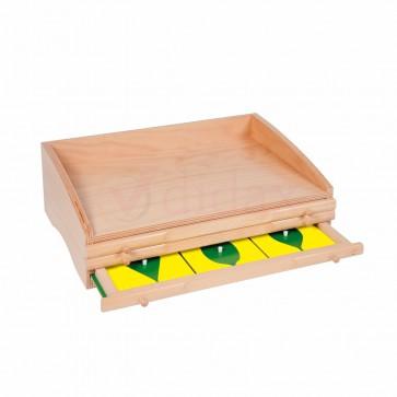 Komoda botaniczna - 3 szuflady, Nienhuis Montessori