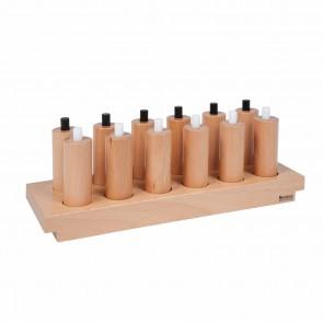Cylindry naciskowe, 3+, Nienhuis Montessori