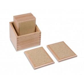 Tabliczki stopniowania gładkości, Nienhuis Montessori