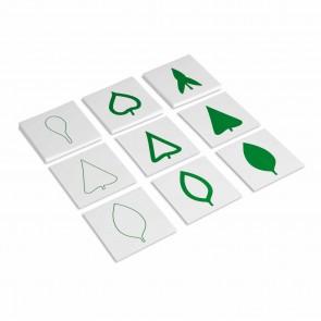 Komoda botaniczna - karty z liścmi, Nienhuis Montessori