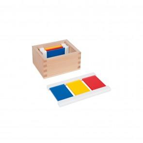Kolorowe tabliczki nr 1,  Nienhuis Montessori