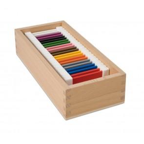 Kolorowe tabliczki nr 2, Nienhuis Montessori
