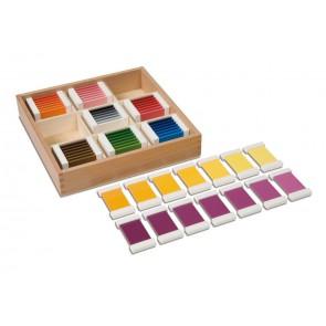 Kolorowe tabliczki nr 3, Nienhuis Montessori