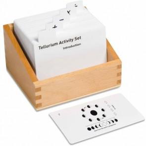 Tellurium - karty zadaniowe - j.ang., 4+, Nienhuis Montessori